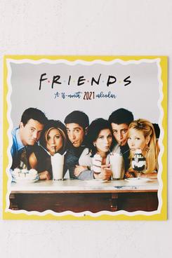 2021 'Friends' 16-Month Wall Calendar