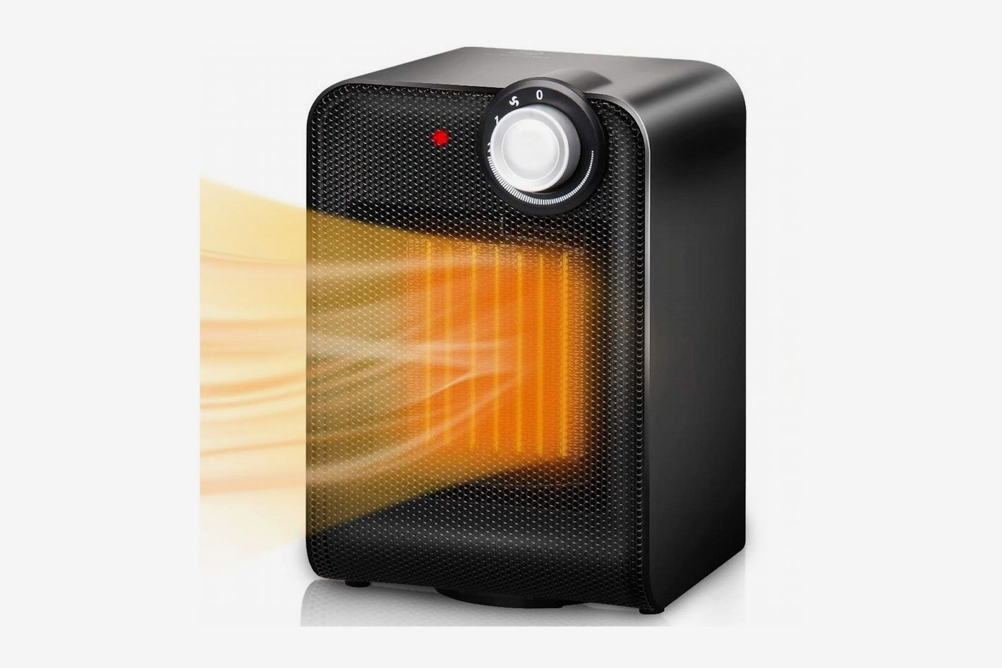Trustech Electric Space Heater, Portable Ceramic Heater with 1500W