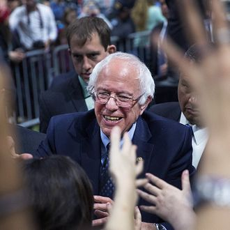 Bernie Sanders Holds Campaign Rally At Michigan State University