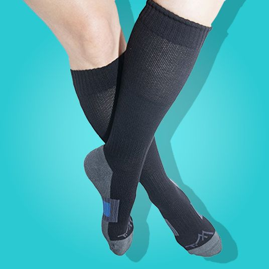 9721cad3536 I Won t Fly Without These Corsetlike Socks