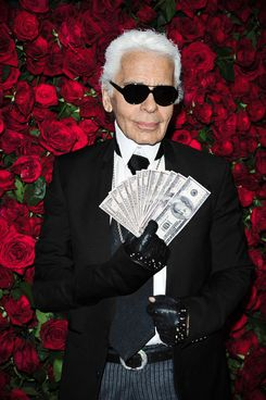 Karl Lagerfeld==The Museum of Modern Art Film Benefit Celebrates PEDRO ALMODOVAR==Museum of Modern Art N.Y.C.==November 15, 2011==? Patrick McMullan==Photo - CHANCE YEH/PatrickMcMullan.com====