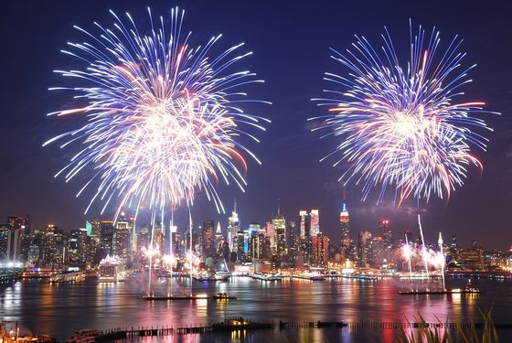 You can find these pyrotechnics back in the East River tomorrow night.