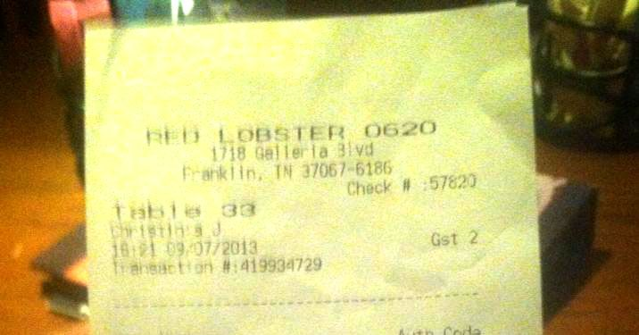 Racist Receipt at Red Lobster Prompts Glut of Amateur Internet Sleuthing