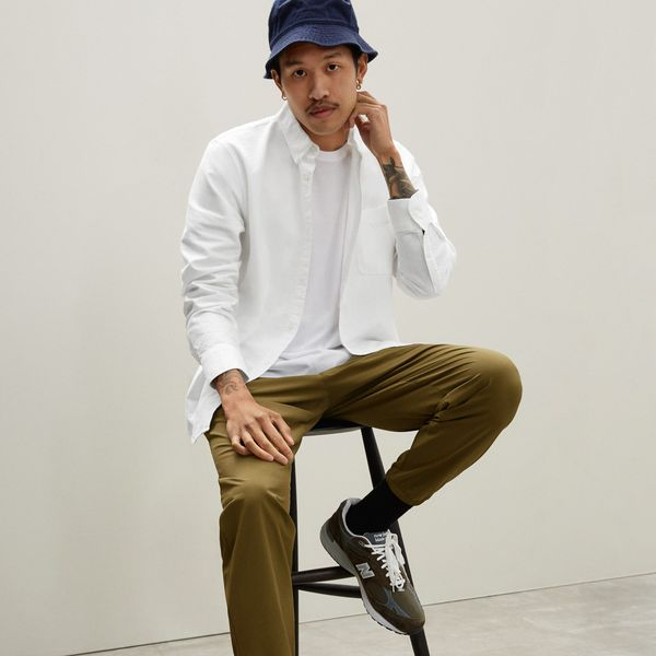 Everlane The Standard Fit Japanese Oxford Shir