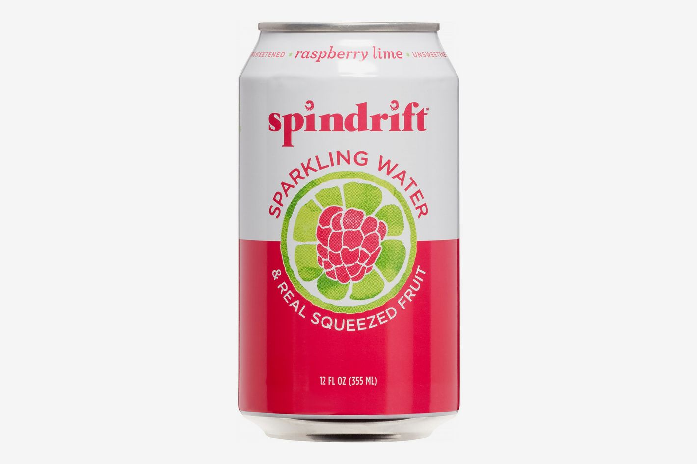 Spindrift Raspberry Lime Sparkling Water, 4pk 12 Fl Oz