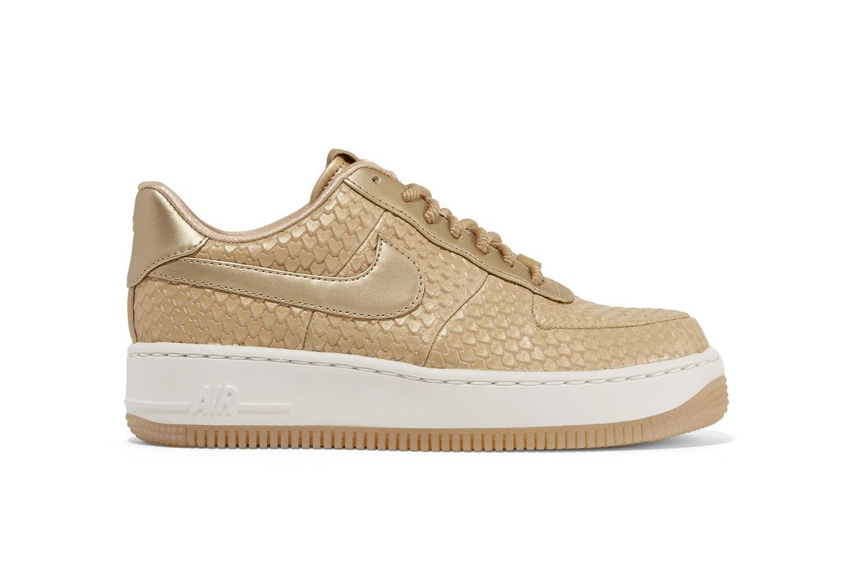 NikeLab Air Force 1 Metallic Sneakers