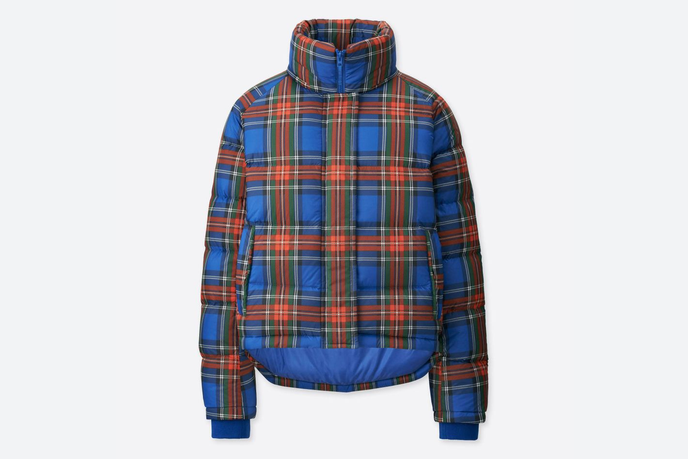 J.W. Anderson x Uniqlo Plaid Puffer Coat