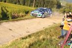 Watch This Rally Car Crash Into a French Vineyard