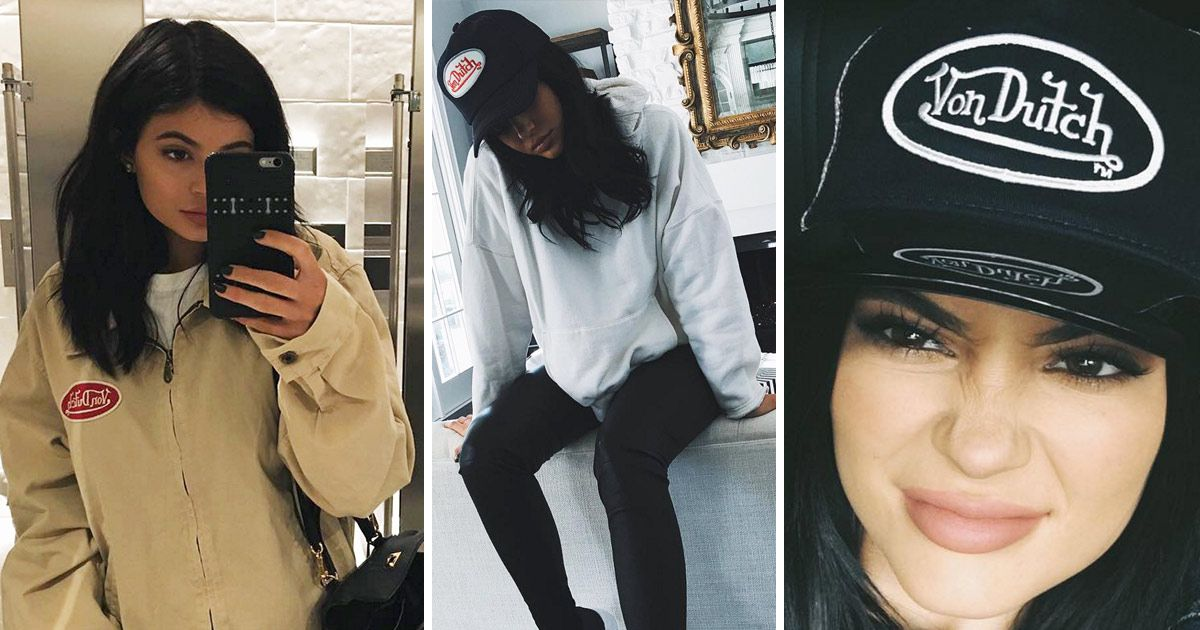 Kylie Jenner Is Trying Really Hard to Bring Von Dutch Back f5223b338c7