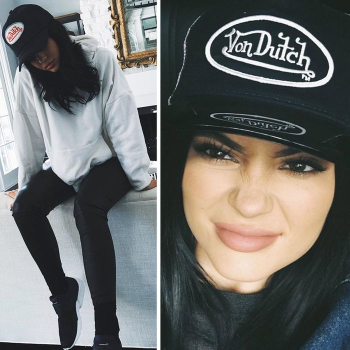 How much do you think Von Dutch is paying Kylie to do this?