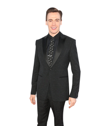 LOS ANGELES, CA - JUNE 19: Actor Erich Bergen attends the 2014 Los Angeles Film Festival Premiere of Warner Bros. Pictures'