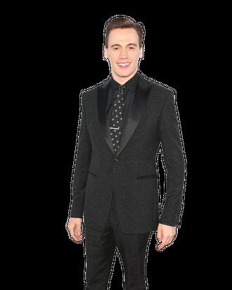LOS ANGELES, CA - JUNE 19: Actor Erich Bergen attends the 2014 Los Angeles Film Festival Premiere of Warner Bros. Pictures'