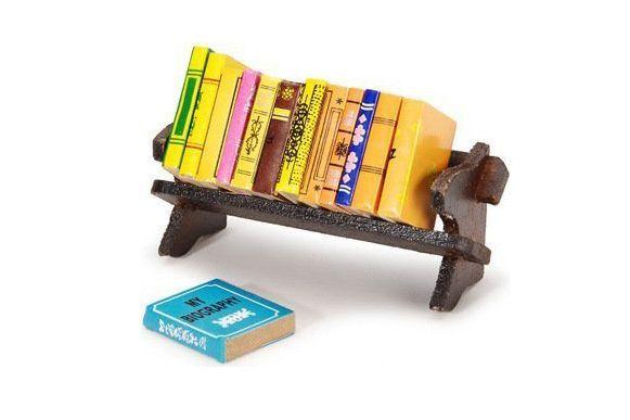 Classic Mini Books and Shelf