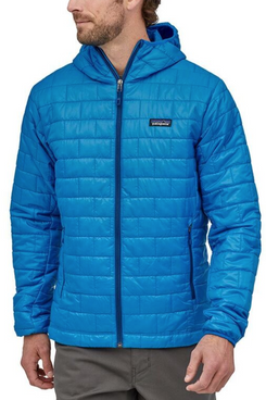 Patagonia Men's Nano Puff Hooded Insulated Jacket