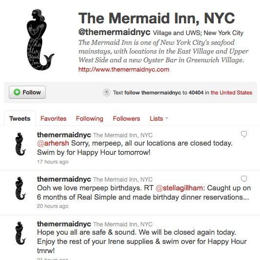 The Mermaid Inn Twitter feed: always a good read.