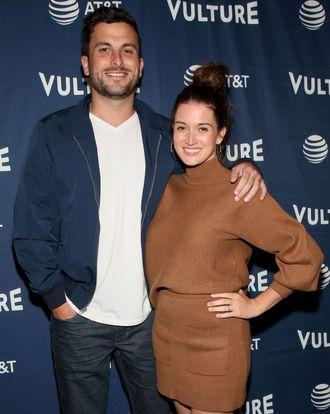 Tanner Tolbert and Jade Roper Tolbert.