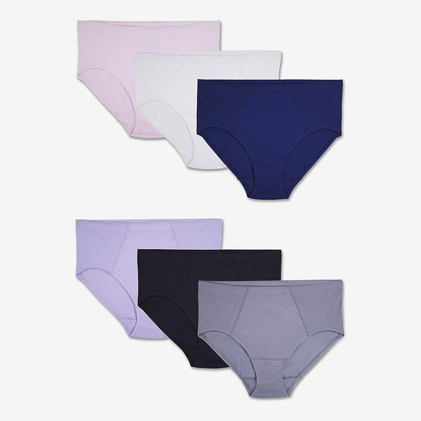 Fruit Of The Loom Women's Plus Size Underwear Flexible Fit Brief Panties