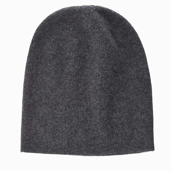 Buttoned Down Men's 100% Cashmere Jersey Beanie