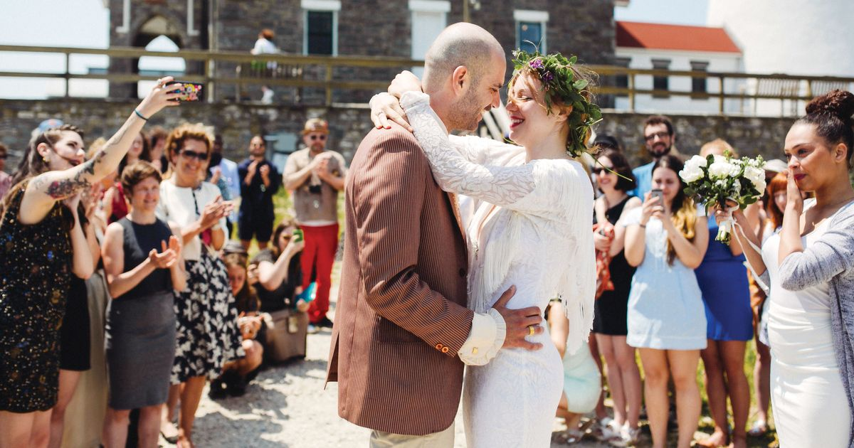 Nymag Real Weddings: Real Wedding Album: A Last-Minute Beach Bash On Fire Island