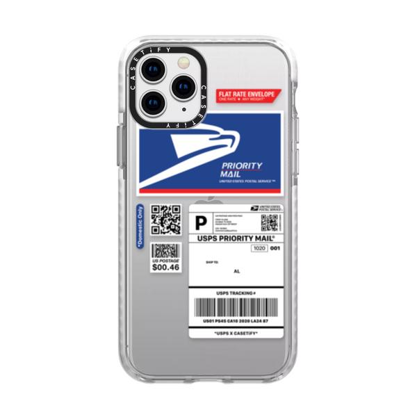 USPS x Casetify Airbill Custom Phone Case