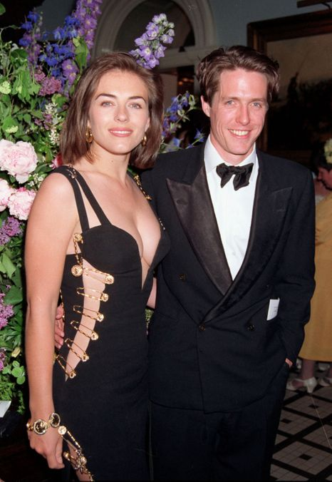 Photo 8 from Elizabeth Hurley's Versace Safety-Pin Dress