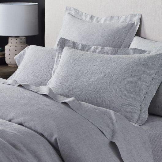 Coyuchi Organic Relaxed Linen Duvet Cover, Queen
