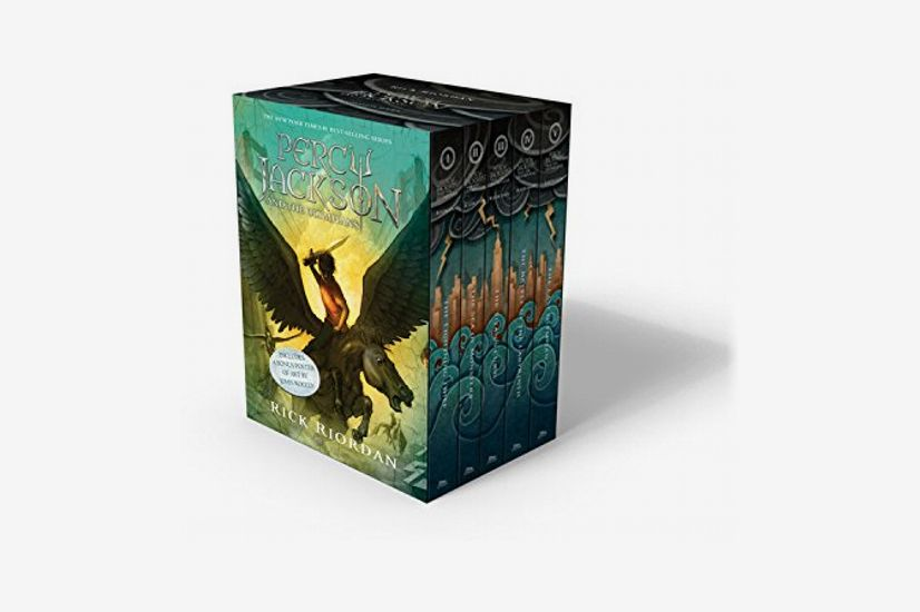 <em>Percy Jackson and the Olympians</em> by Rick Riordan - Boxed Set