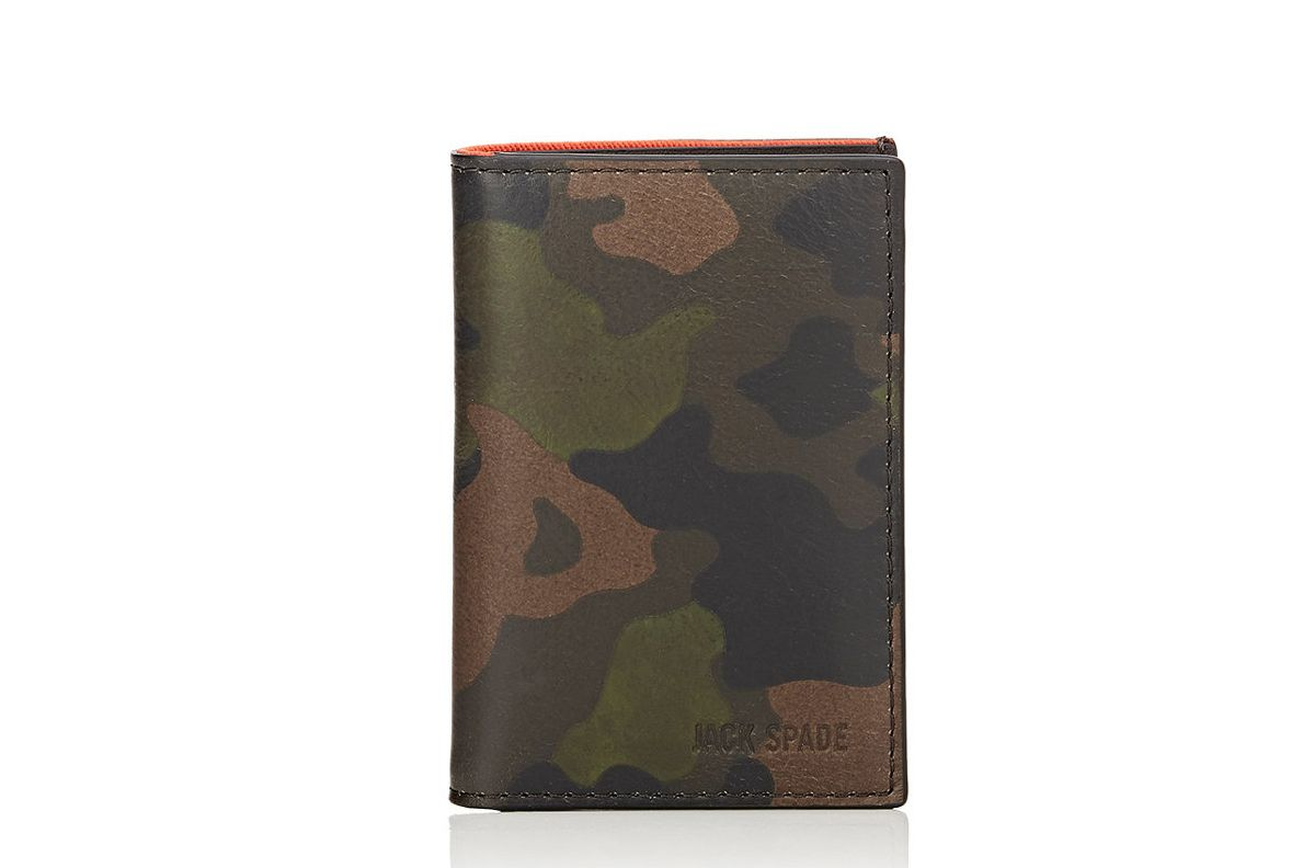 Jack Spade Camouflage Folding Card Case