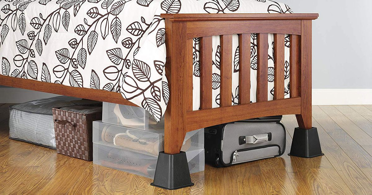 9 Best Bed Risers 2019 The Strategist, How To Use Furniture Risers