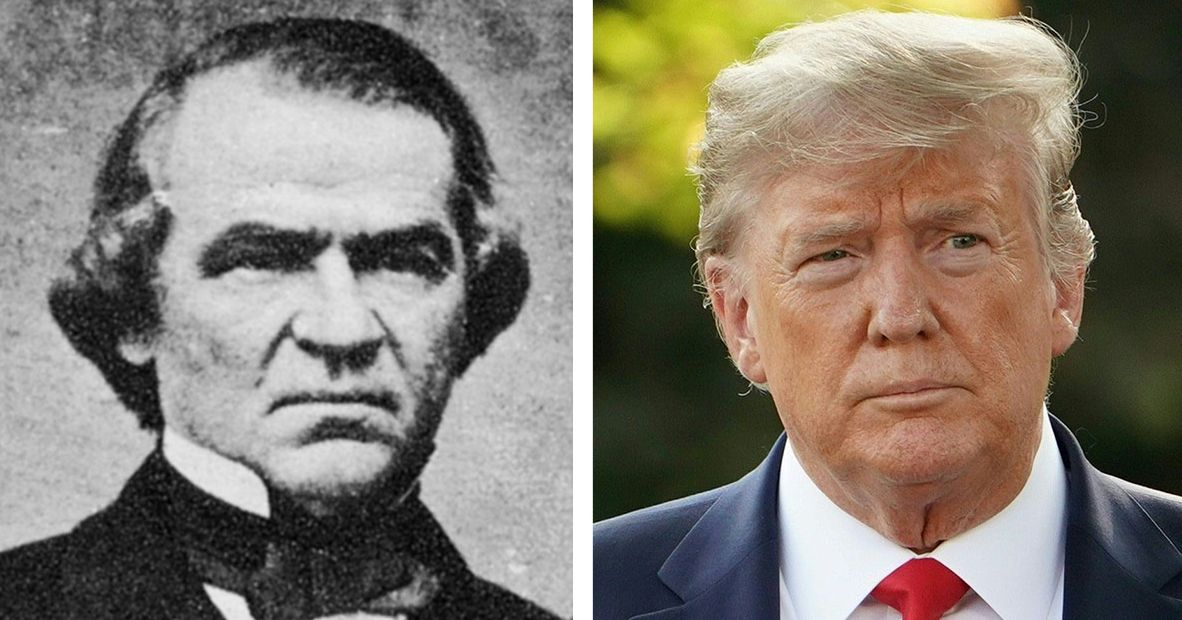 Pence Is Right: Trump Is a Lot Like Andrew Johnson