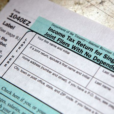 1040EZ Income Tax Return