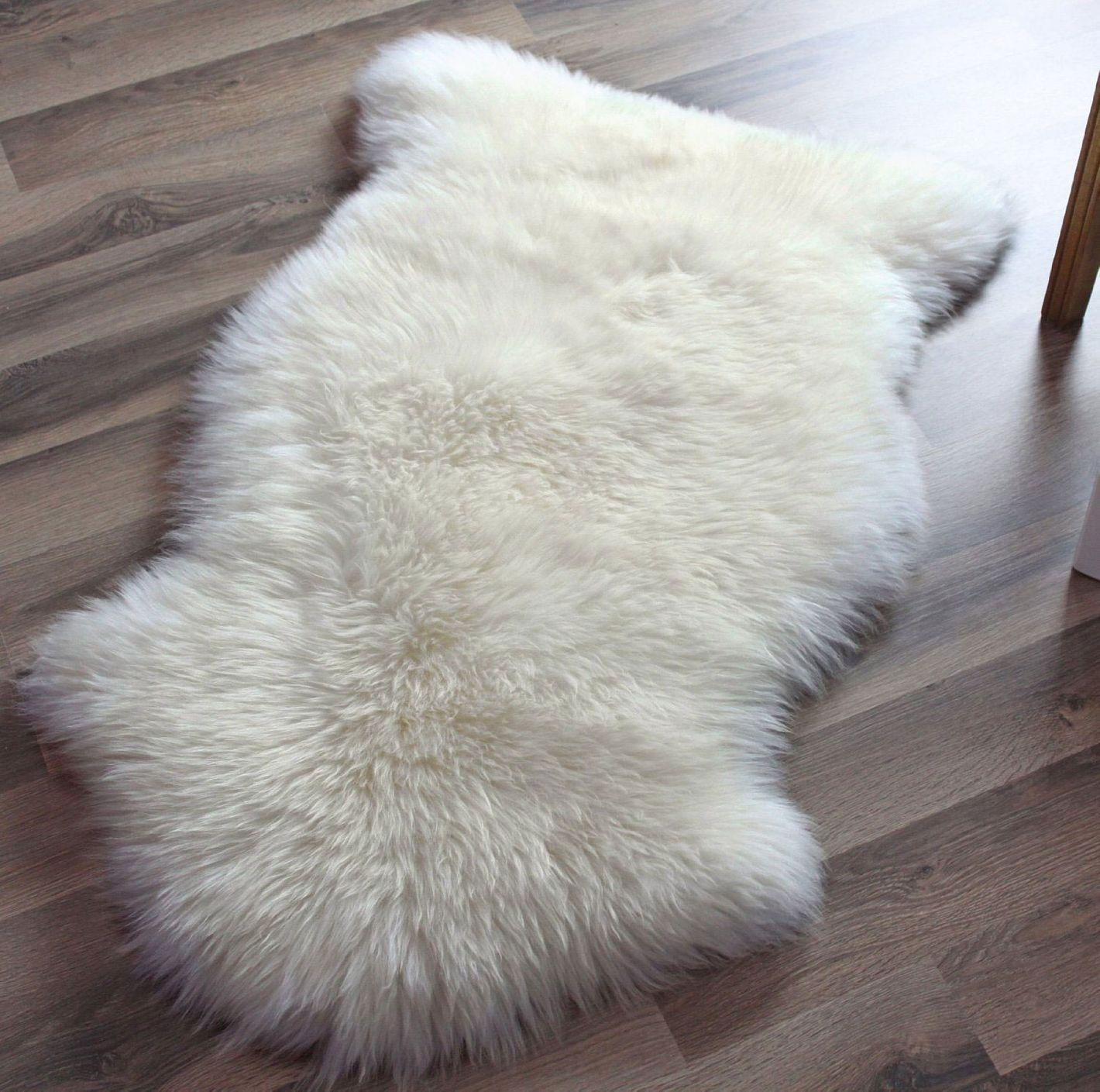 Super Area Rugs Genuine Australian Sheepskin Rug