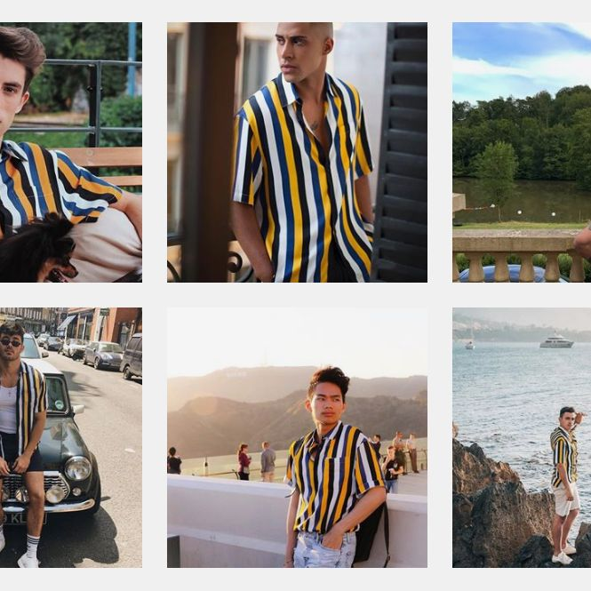 846c28b8b1 Why Are So Many Guys Wearing This Striped Shirt?