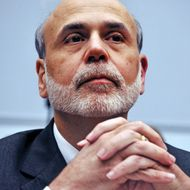 "The Chairman of the US Federal Reserve Ben Bernanke testifies before the US House Financial Services Committee on July 13, 2011 on Capitol Hill in Washington, DC. The committee held hearings on ""Monetary Policy and the State of the Economy."" Bernanke presented the central bank's outlook on the US economy to Congress amid signs of divisions among its policymakers over whether to offer fresh support to bolster the flagging recovery.   AFP PHOTO/Karen BLEIER (Photo credit should read KAREN BLEIER/AFP/Getty Images)"