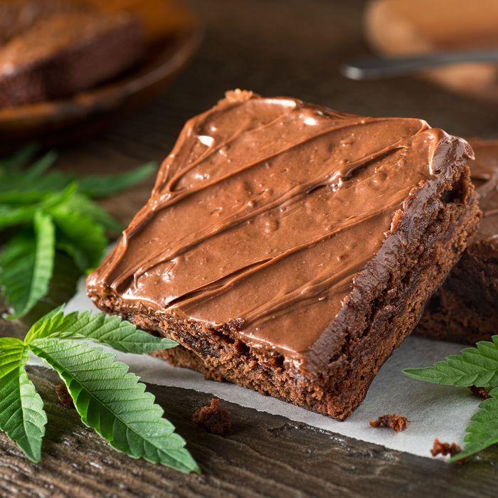 Weed brownies.