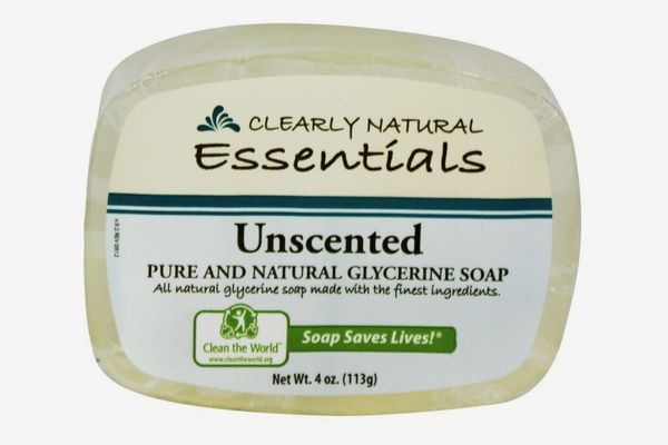 Clearly Natural Glycerin Bar Soap, Unscented, 4oz Bar, Pack of 6