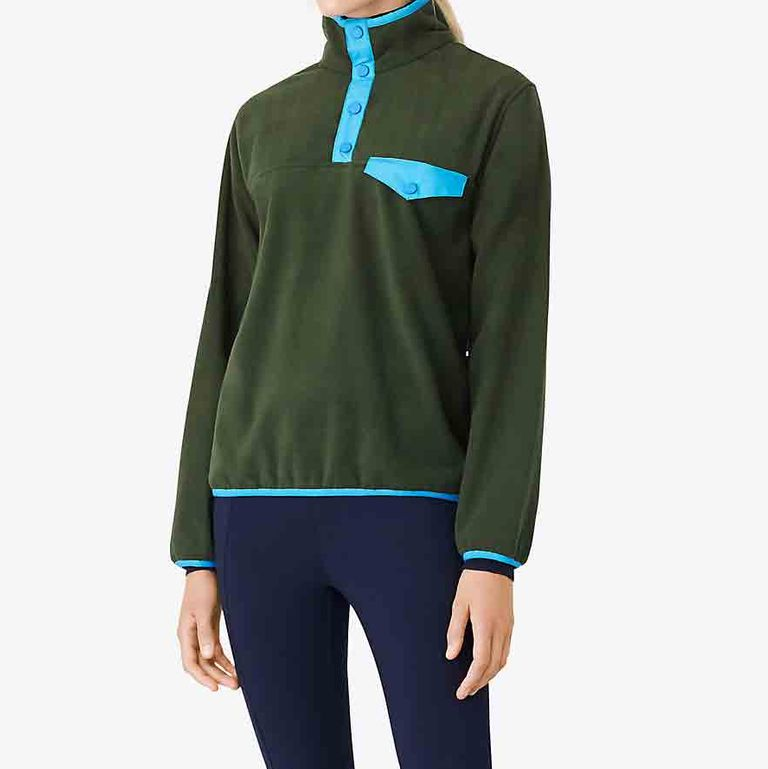 Tory Burch Polar Fleece Pullover