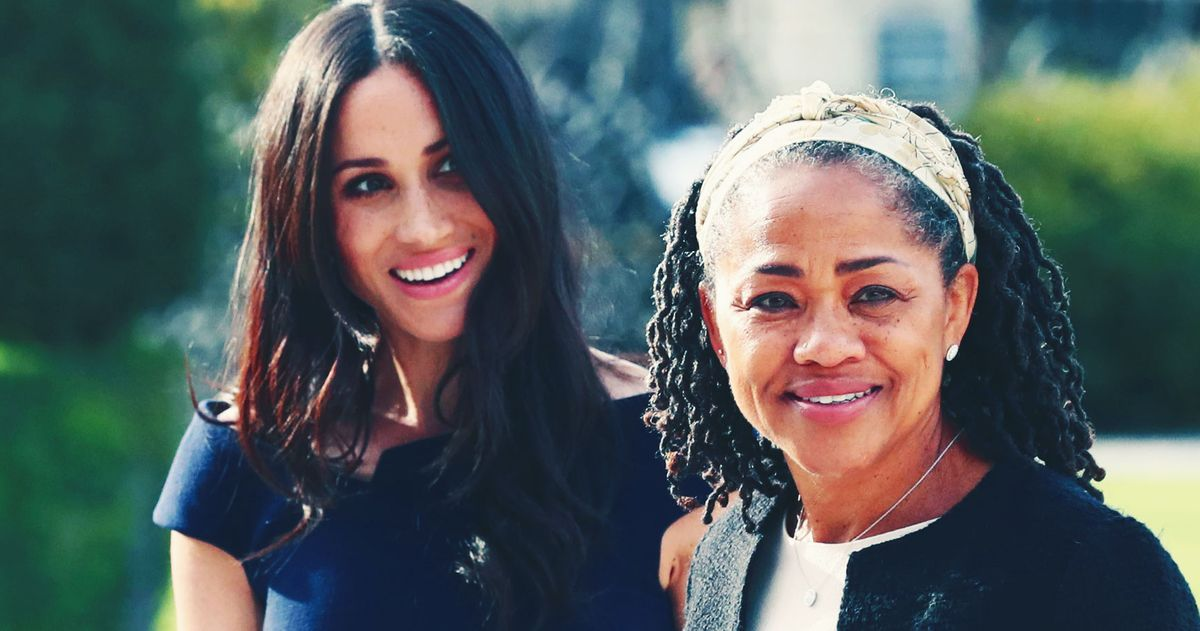 Meghan Markle's Mom Doria Ragland Arrives in U.K. Before Royal Birth