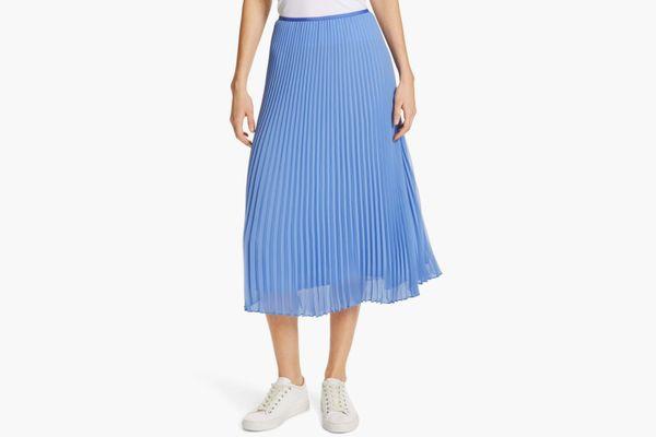 Polo Ralph Lauren Pleat Midi Skirt