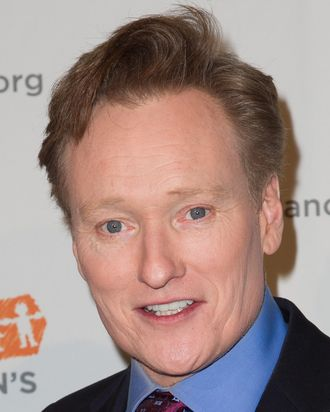 7 March 2013 - Beverly Hills, California - Conan O'Brien. The Alliance for Children's Rights 21st Annual Dinner. Photo Credit: John Salangsang/AdMedia