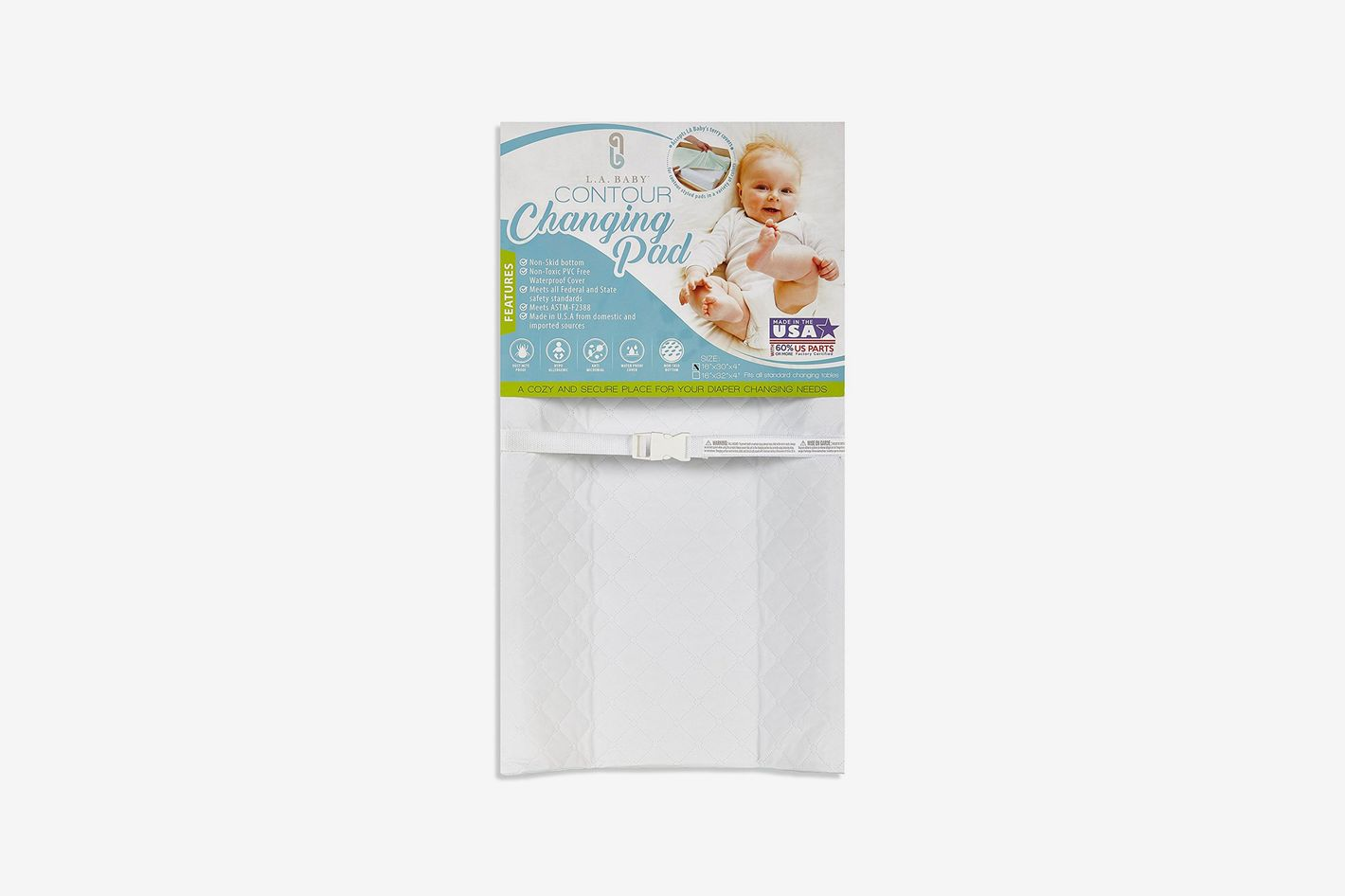 L.A. Baby Waterproof Contour Changing Pad