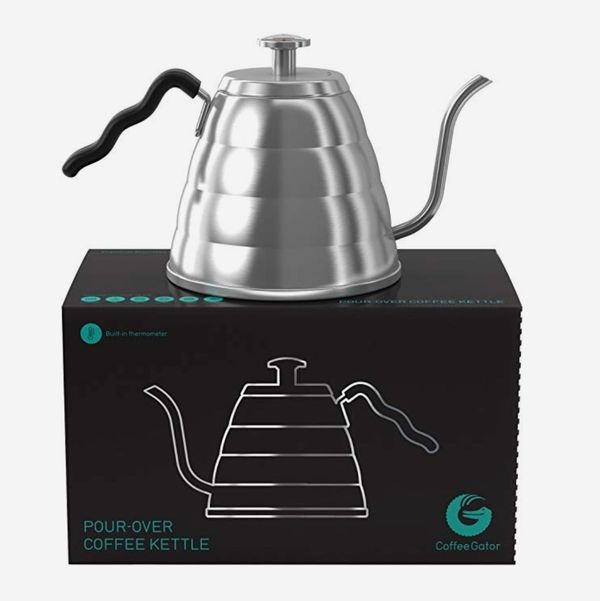 Coffee Gator Gooseneck Pour Over Coffee Kettle