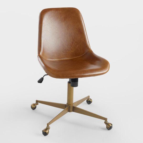 Bi Cast Leather Molded Tyler Office Chair