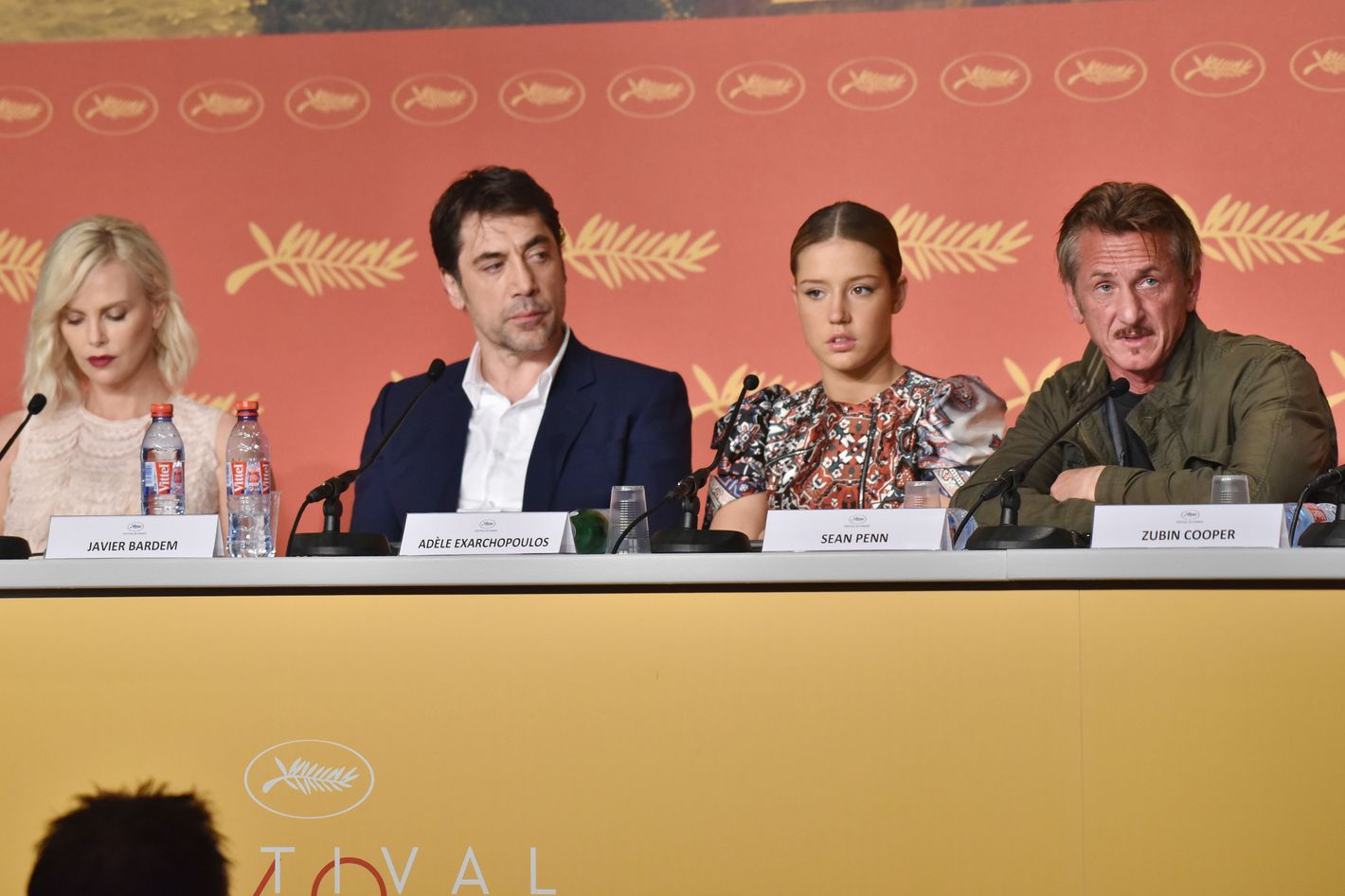 Derided Sean Penn Cannes Movie Followed By Tense Press Conference With  Charlize Theron