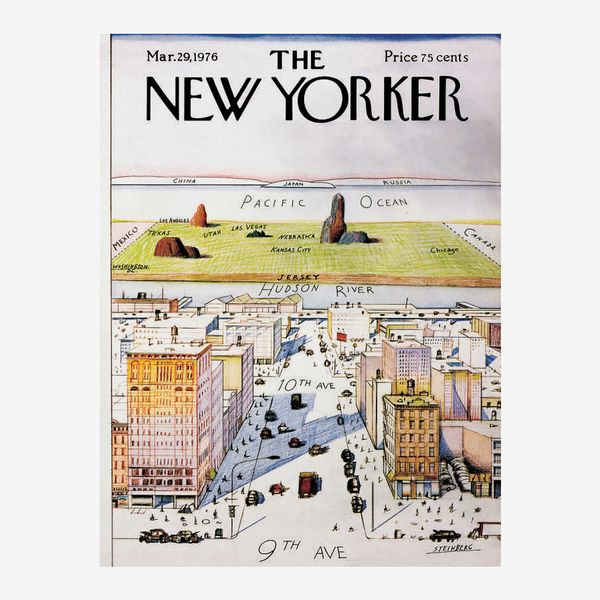 New York Puzzle Company New Yorker View of the World Puzzle