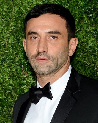 Riccardo Tisci off the court.
