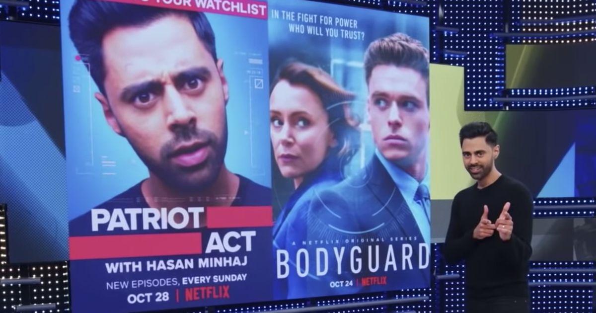 Netflix's Hasan Minhaj Calls Out Netflix's Bodyguard Over Islamophobia