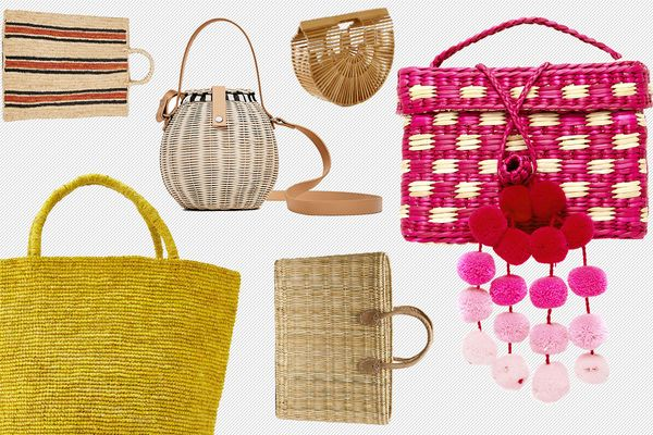 12 Cheerful, Summer-Ready Straw Bags Under $150