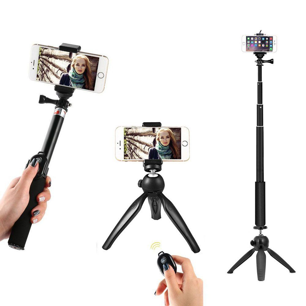 WiHoo Selfie Stick With Tripod Mount Adapter at Amazon d19db1348acd