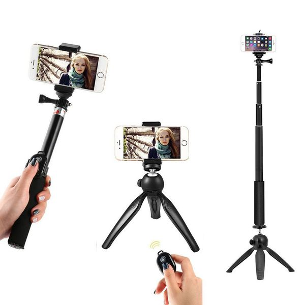 WiHoo Selfie Stick With Tripod Mount Adapter